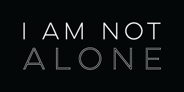 I-am-not-alone