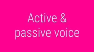 passive
