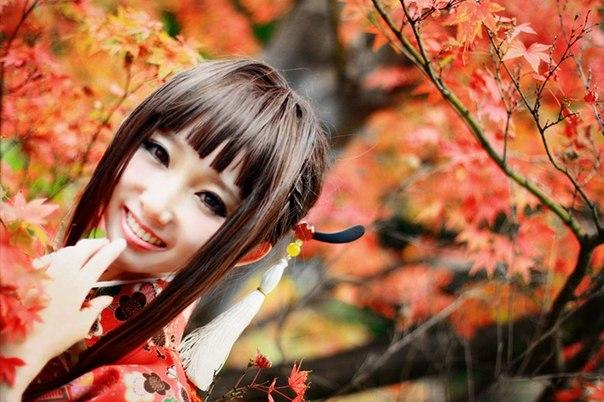 осень азия