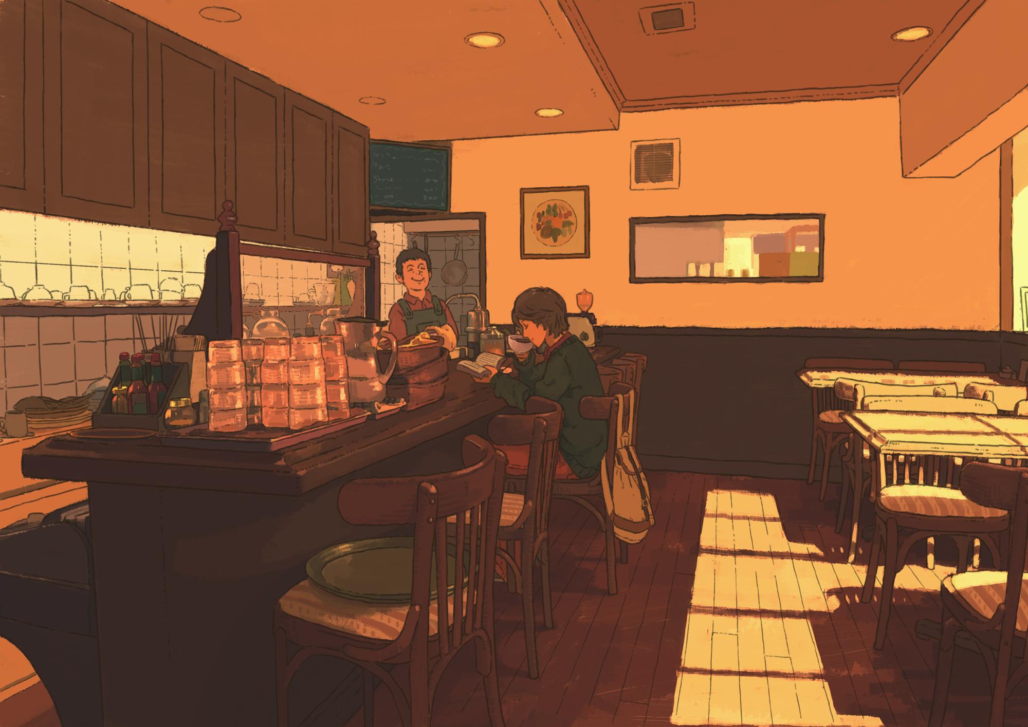 Anime Restaurant Papirio