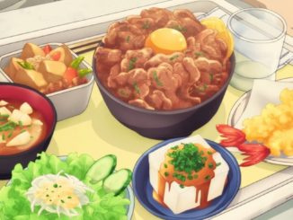 аниме еда