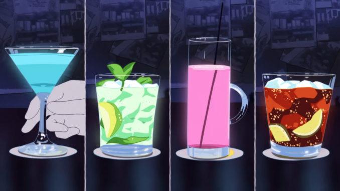 аниме напитки