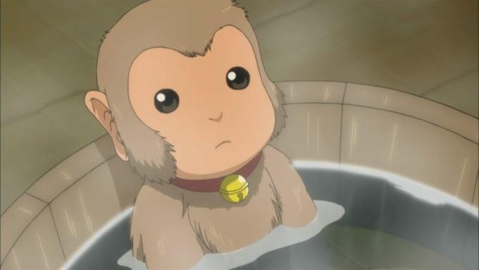 аниме обезьяна