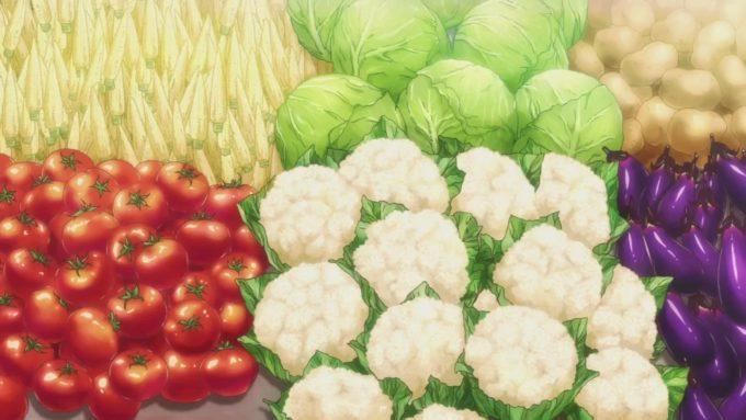 овощи аниме