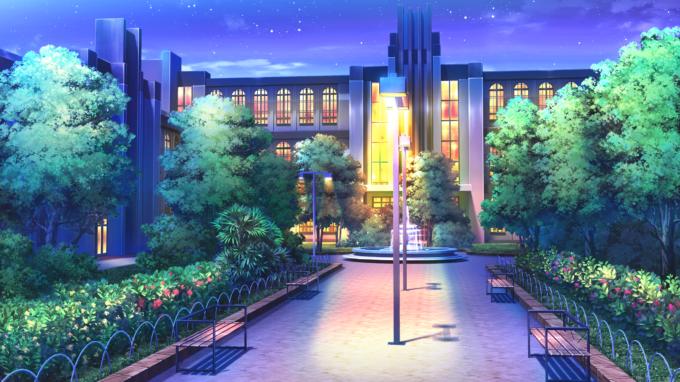 город аниме