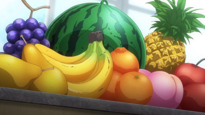 фрукты аниме